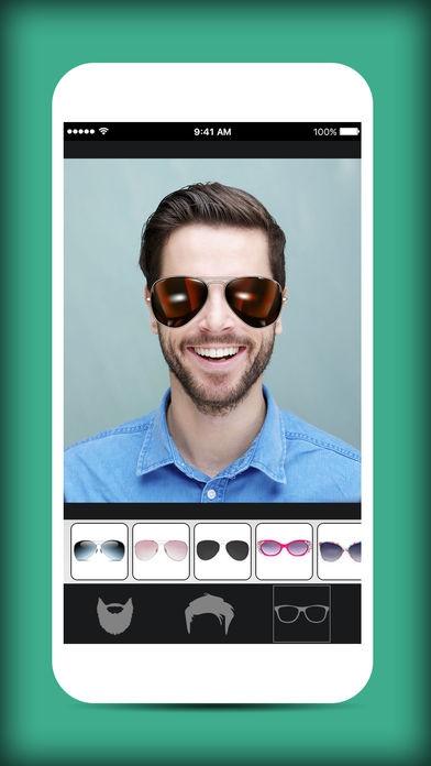 App ปรับลุคฮิปสเตอร์Men Mustache And Hair Styles