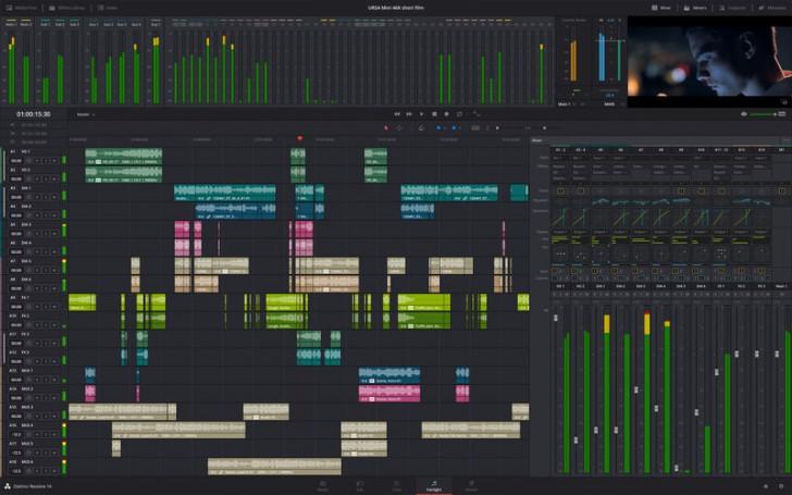 โปรแกรมแก้สีตัดต่อวีดีโอDavinci Resolve