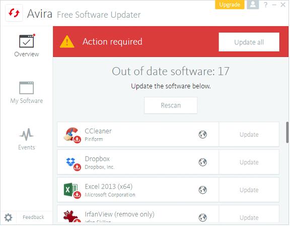 ดาวน์โหลด Avira Free Security Suite ล่าสุด