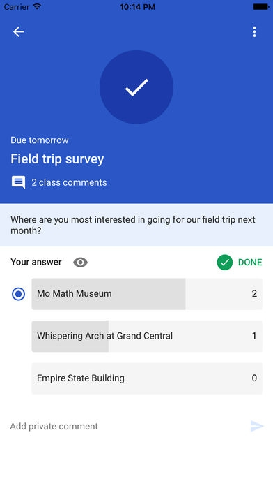 App การเรียนการสอนไร้กระดาษGoogle Classroom