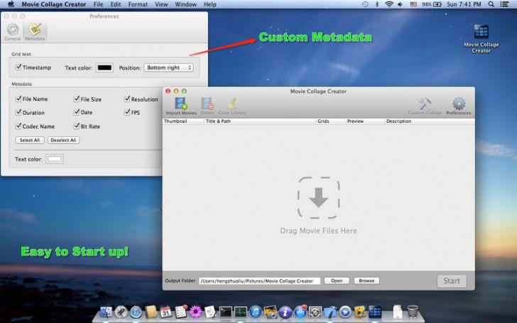 โปรแกรมทำรูปตัวอย่างวีดีโอ Movie Thumbnails Maker Free