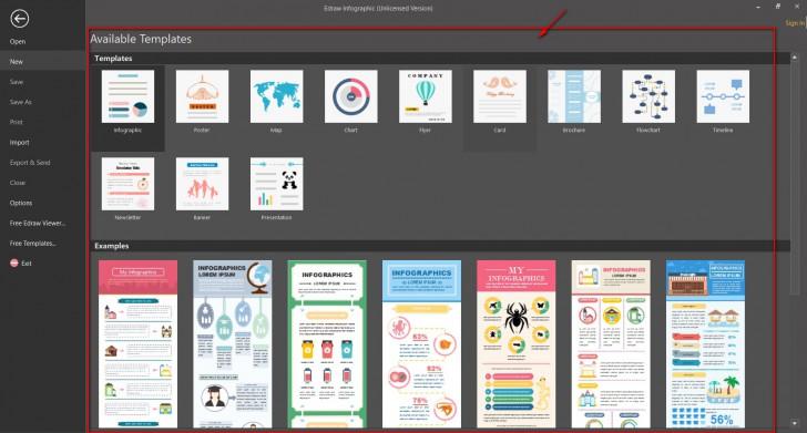 Edraw Infographic (โปรแกรม Edraw Infographic ออกแบบ สร้าง อินกราฟฟิก แบบง่ายๆ) :