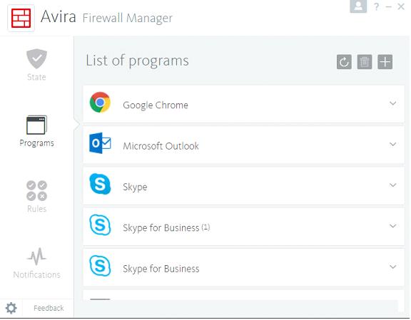 โปรแกรมป้องกันระบบอินเทอร์เน็ต Avira Internet Security Suite