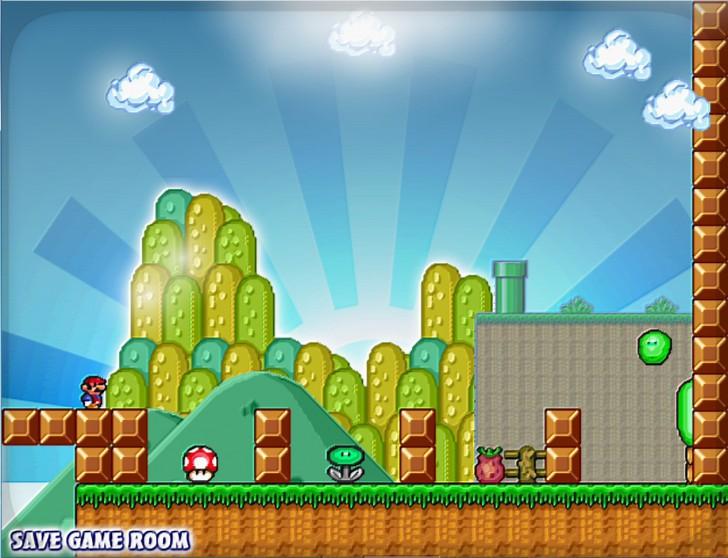 เกมส์มาริโอ้ตะลุยด่าน Mario Forever KIDS