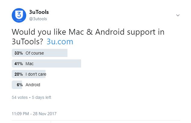 3utools Mac