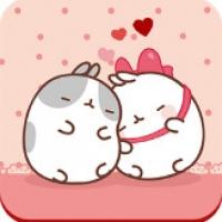 Cute Kitty Love Theme (App ธีมน้องแมวสุดน่ารักสำหรับ Android)