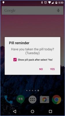 App เตือนกินยาคุมกำเนิด Lady Pill Reminder