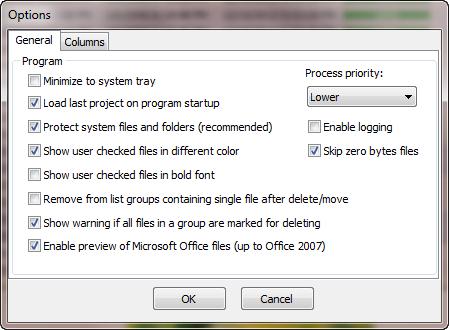 โปรแกรมหาไฟล์ซ้ำ Fast Duplicate File Finder