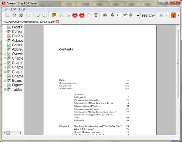 โปรแกรมเปิดไฟล์ PDF ฟรี Aiseesoft Free PDF Viewer