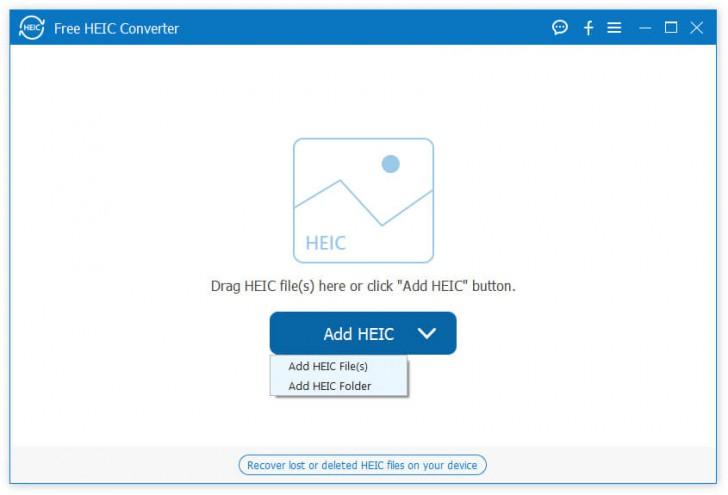 โปรแกรมแปลงไฟล์ HEIC เป็นรูปภาพ Aiseesoft Free HEIC Converter