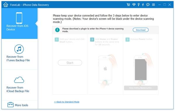 โปรแกรมกู้ข้อมูล กู้ไฟล์ FoneLab iPhone Data Recovery