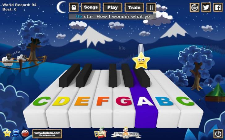 Music Keys (โปรแกรม Music Keys สอนเปียโน สำหรับเด็ก และ ผู้เริ่มต้น บน Mac) :