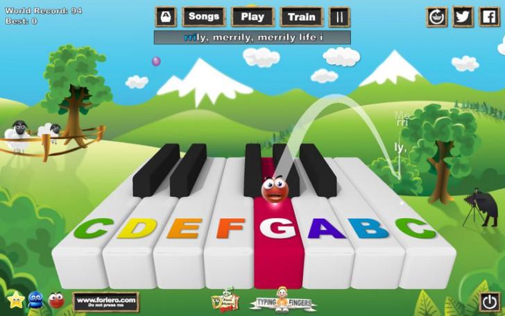 โปรแกรมสอนเล่นเปียโนอย่างง่ายMusic Keys