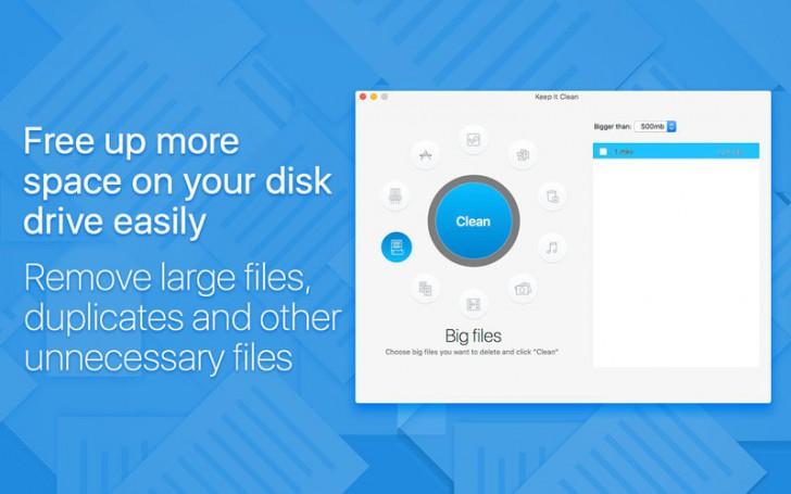 Keep It Clean (โปรแกรม Keep It Clean ทำให้เครื่องสะอาดอยู่ตลอดเวลา บน Mac) :