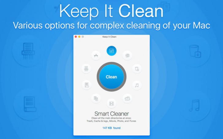 โปรแกรมทำความสะอาดเครื่องKeep It Clean