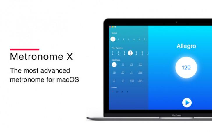 Metronome X (โปรแกรม Metronome X เคาะจังหวะ นับจังหวะดนตรี บน Mac) :
