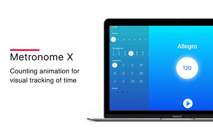 โปรแกรมนับจังหวะดนตรีMetronome X