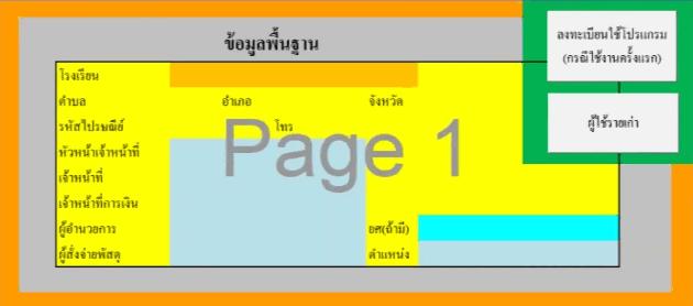 โปรแกรมพิมพ์เอกสารจัดซื้อจัดจ้าง PasssaduPD