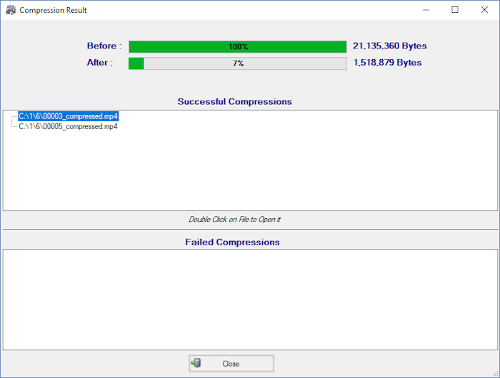 โปรแกรมลดขนาดไฟล์วีดีโอ Simple Video Compressor