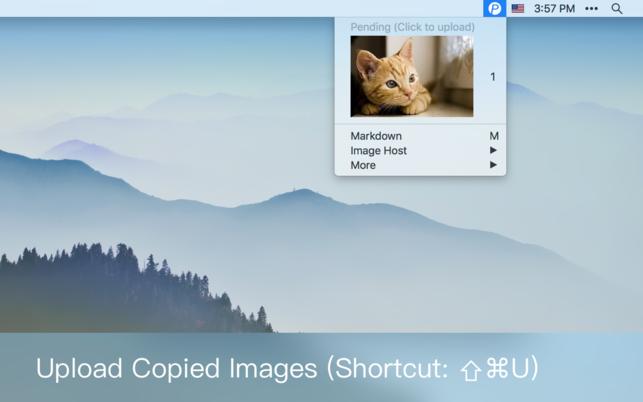 iPic (โปรแกรม iPic อัพโหลดรูปภาพ พร้อมคัดลอกลิงค์ ผ่าน Menu Bar บน Mac) :