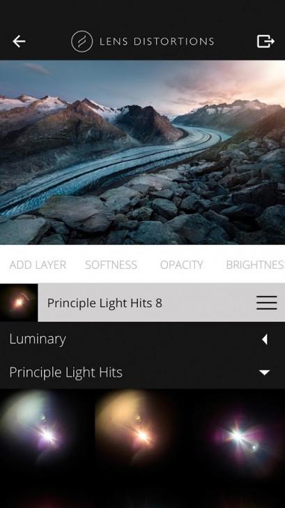 App แต่งรูป ใส่เอฟเฟครูป Lens Distortions