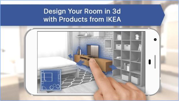 App ลองแต่งห้องRoom Planner for IKEA