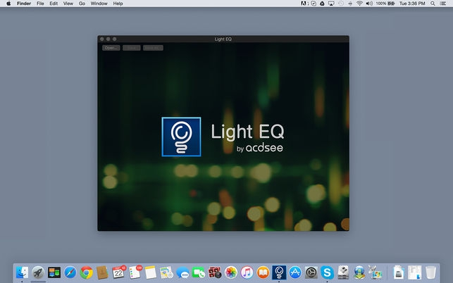 Light EQ (โปรแกรม Light EQ ปรับแสง แต่งค่าต่างสี อัตโนมัติ จาก ACDSee บน Mac) :