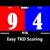 Easy TKD Scoring (โปรแกรม Easy TKD Scoring ให้คะแนนเทควันโด สกอร์บอร์ดเทควันโด)