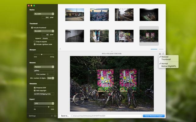 Super Resize (โปรแกรม Super Resize ย่อขนาดรูป สำหรับมืออาชีพ บน Mac) :