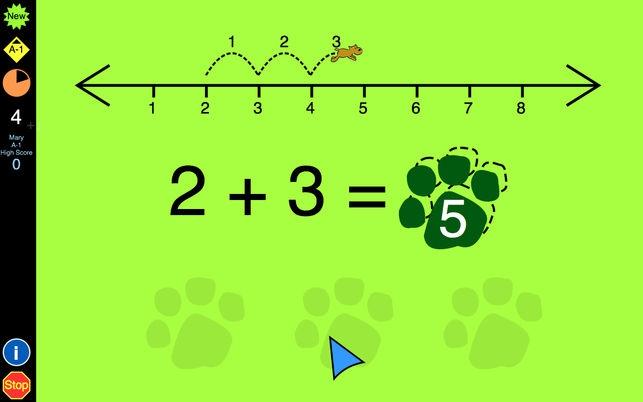 โปรแกรมสอนเด็กบวกเลขAddition