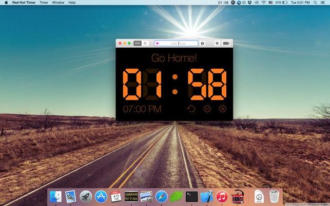 โปรแกรมตั้งเวลาRed Hot Timer