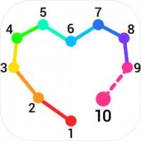 Dot to Dot to Coloring (App ลากเส้นต่อจุดระบายสีคลายเครียด)