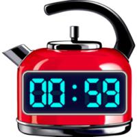 Red Hot Timer (โปรแกรม Red Hot Timer ตั้งเวลา จับเวลา บนหน้าจอ สำหรับ Mac)