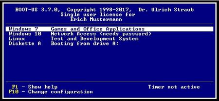 โปรแกรมช่วยสลับ OS ฟรี Boot-US
