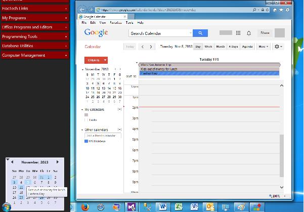 โปรแกรมสร้างทางลัด Sidebar