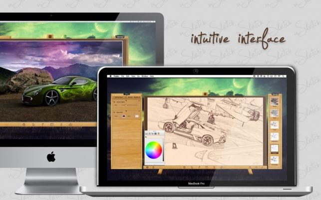 uSketch (โปรแกรม uSketch วาดสเก็ตภาพ สร้างภาพสเก็ต จากรูปภาพ สำหรับ Mac) :