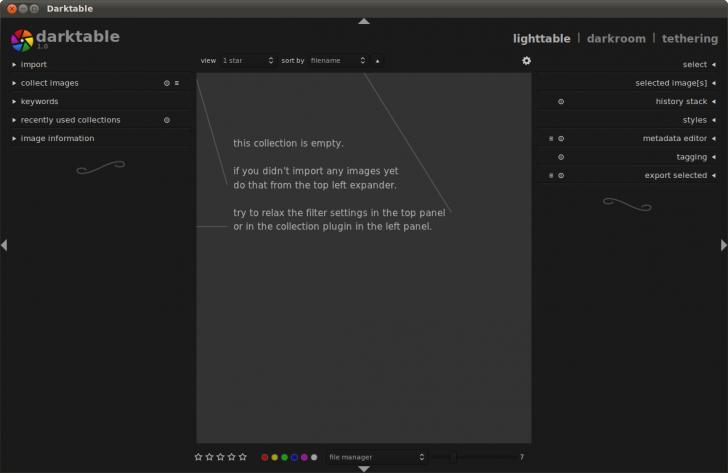 Darktable (โปรแกรม Darktable แต่งรูป คล้าย Lightroom แต่แจกฟรี) :