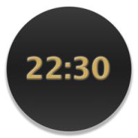 BackgroundClock (โปรแกรม BackgroundClock โชว์นาฬิกาพื้นหลัง Desktop สำหรับ Mac)