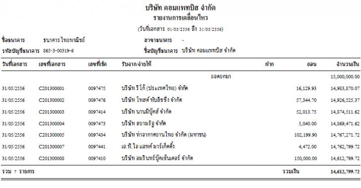 Cheque Printing (โปรแกรม Cheque Printing สั่งจ่ายเช็ค และ พิมพ์เช็ค) :