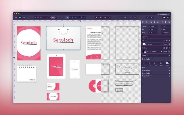 Gravit Designer (โปรแกรมวาดรูปแบบ Vector บน PC ใช้ฟรี 100%) :