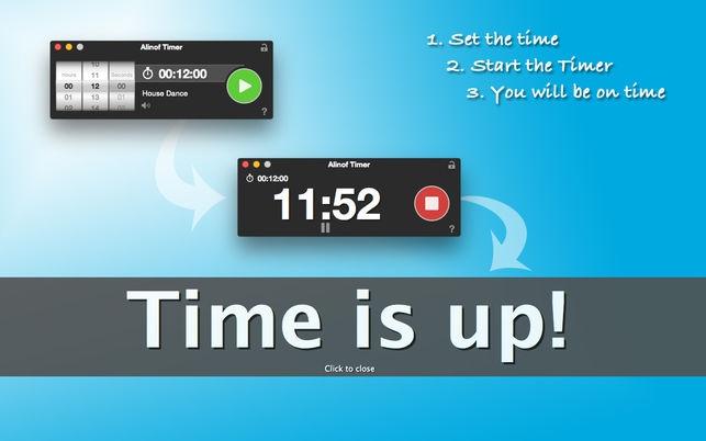 โปรแกรมจับเวลานับถอยหลังAlinof Timer
