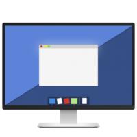 DeskCover (โปรแกรม DeskCover คลุมหน้าจอ ซ่อนไอคอน โฟกัสงานปัจจุบัน บน Mac)