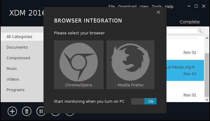 โปรแกรมช่วยดาวน์โหลดไฟล์ Xtreme Download Manager