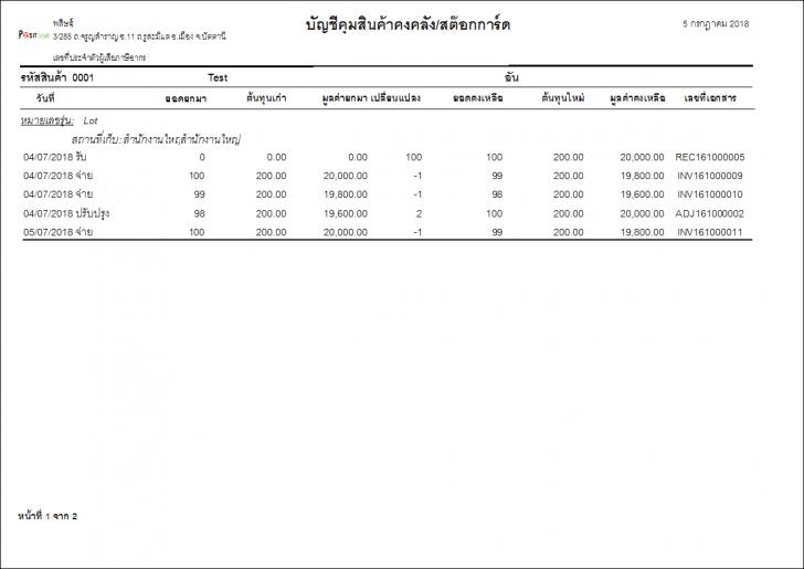 PasitSoftPOS (โปรแกรม PasitSoftPOS ขายหน้าร้าน บน MS Access สำหรับธุรกิจ SME) :