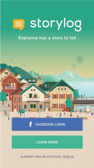 App เล่าเรื่อง อ่านเรื่อง แชร์เรื่อง Storylog
