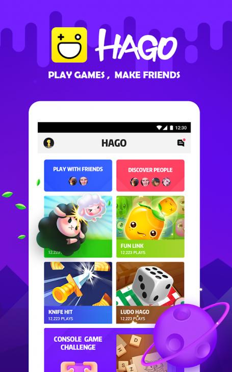 App โซเชียลเน็ตเวิร์คของคนเล่นเกมส์HAGO