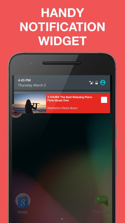 App เปิดเพลงยูทูป ฟังเพลงยูทูป Floatube
