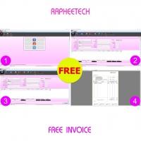 RAPTFreeInvoice (โปรแกรมพิมพ์ใบส่งของ ใบเสร็จ ใบกำกับภาษี ฟรี)