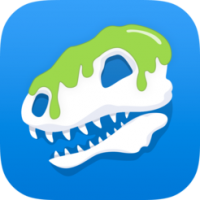 DINOZZZ (โปรแกรม DINOZZZ ลงสี ระบายสี ไดโนเสาร์ สามมิติ บน Mac)