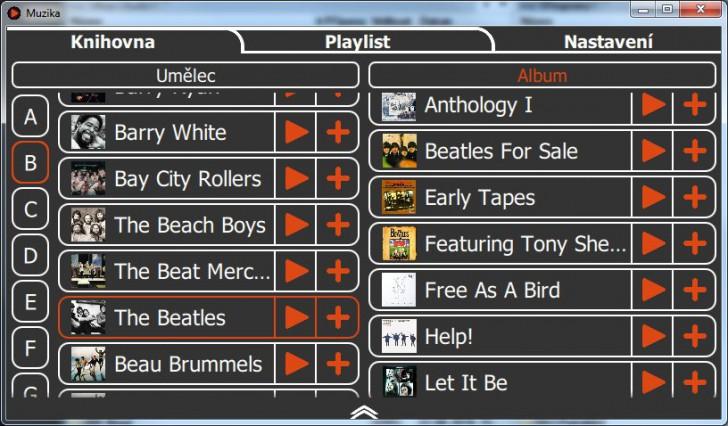 โปรแกรมฟังเพลง Muzika Player
